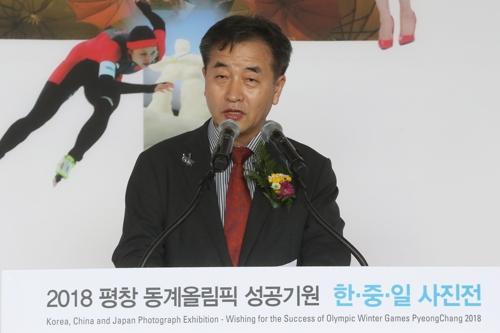 개회사하는 박노황 연합뉴스 사장