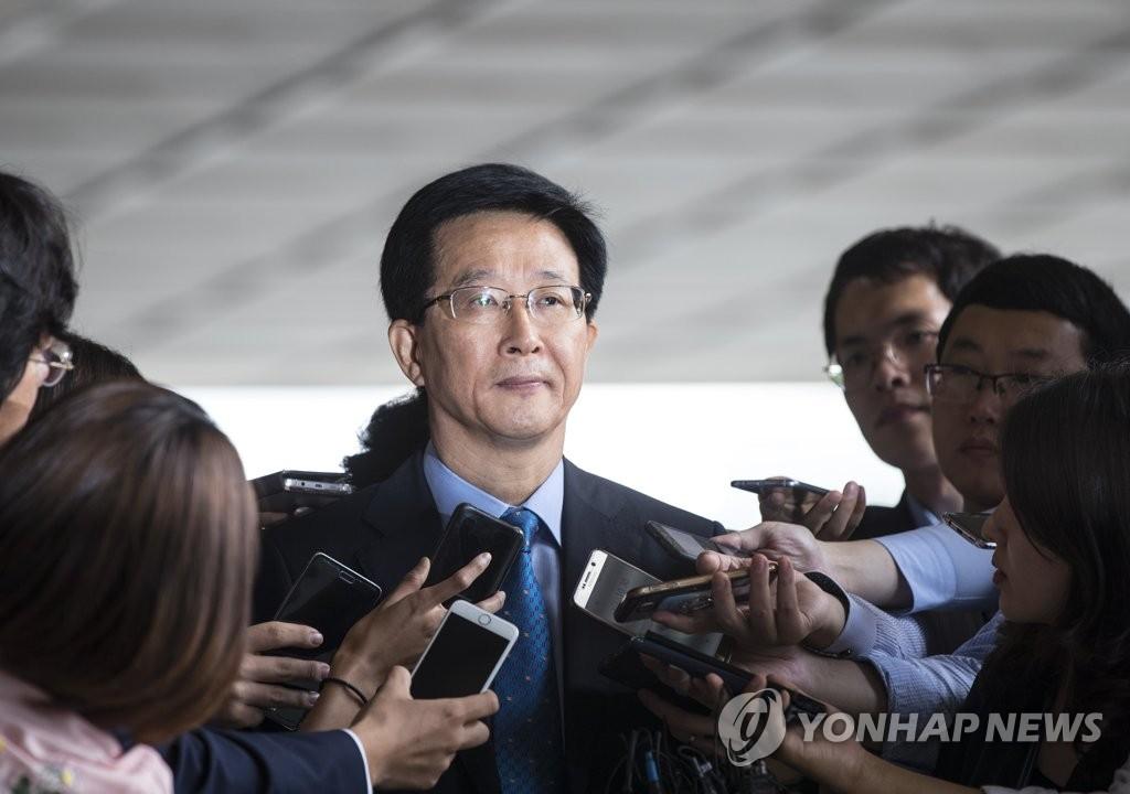 민병주 전 국정원 심리전단장 [연합뉴스 자료사진]
