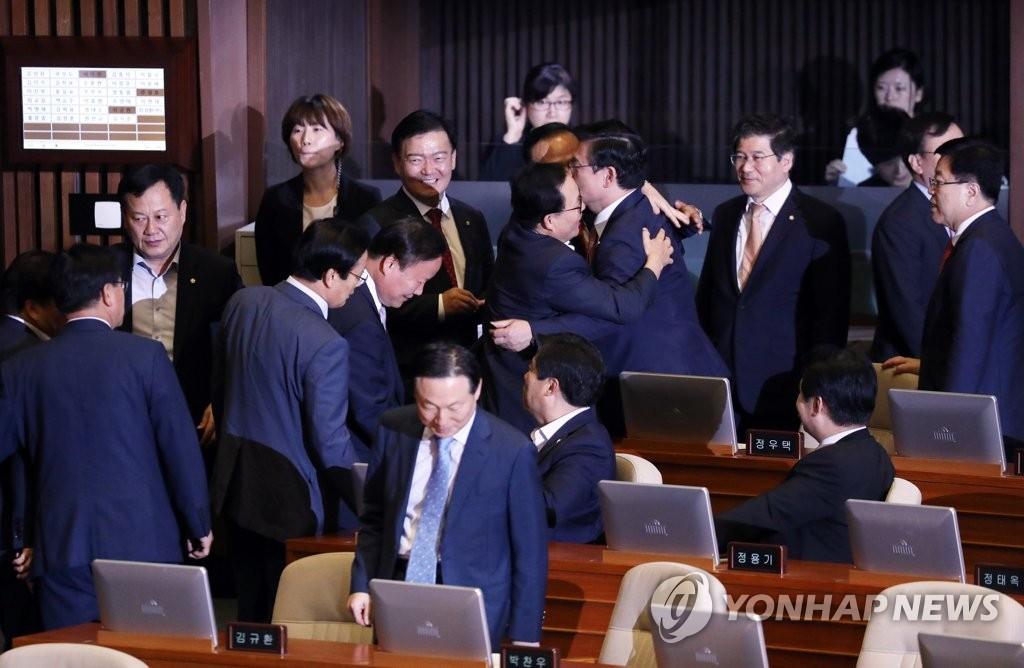 기분좋은 자유한국당