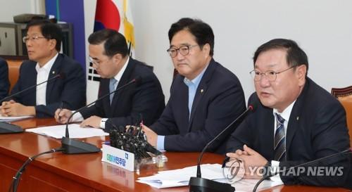 김태년, 호남 SOC홀대론 비판
