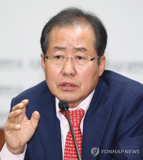홍준표, 3차 혁신안 발표 관련 기자간담회
