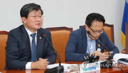전해철 위원장, 민주당 세월호특위 발언