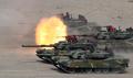 韩美海军陆战队进行实弹演练