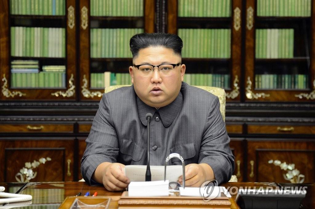 """北 김정은 성명 호응 당·군 동시집회…""""반미결전 총궐기"""""""
