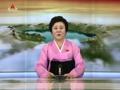 朝鲜王牌女主播朗读金正恩声明