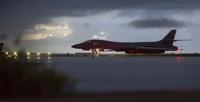 美 B-1B랜서, 北동해공역 비행