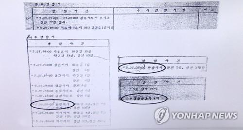 조작된 '전남도경 상황일지' 속 무기고 탈취 기록