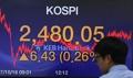 KOSPI renews record high