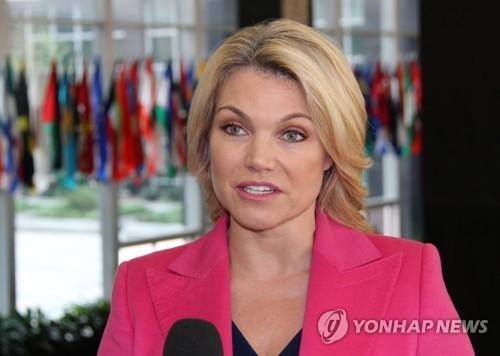 국무차관으로 임명된 헤더 노어트 국무부 대변인