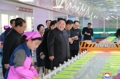 N.K. leader tours shoe factory
