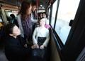 慰安妇像坐上公交车