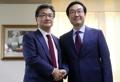 韩美六方会谈团长举行会晤
