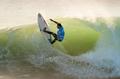 '최고의 서퍼를 찾아라!'…포르투갈 월드 서핑 대회