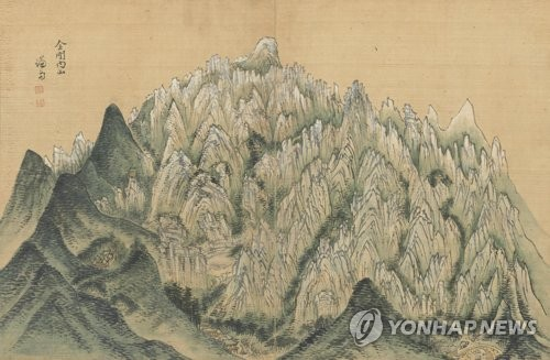 """""""18세기 조선 문인, 금강산 유람 늘었지만 정상 등반은 줄어"""""""
