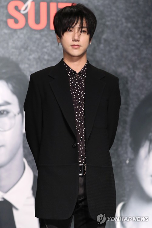 Yesung at comeback show