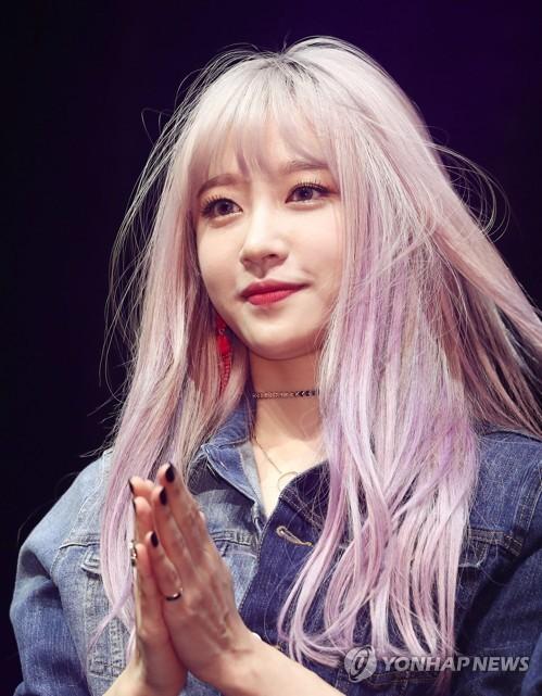 Hani at album event