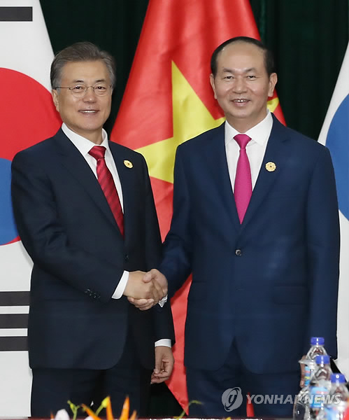 S. Korea, Vietnam hold summit in Danang