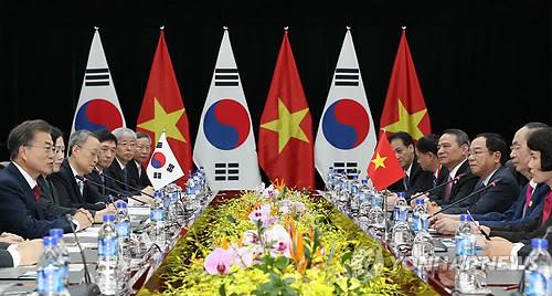 S. Korea, Vietnam hold summit in Danang
