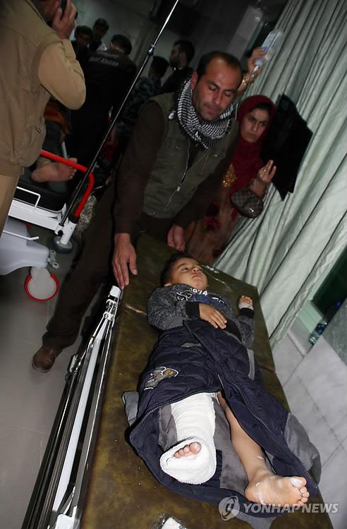이란-이라크 국경서 규모 7.3 강진 부상자