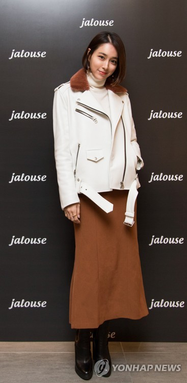 Lee Min-jung with Jalouse clothes