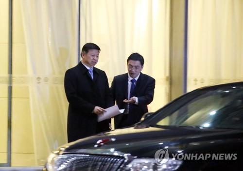 베이징 도착한 '시진핑 특사' 쑹타오 부장