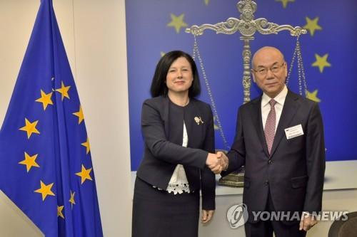 베라 요로바 위원 만난 이효성 위원장