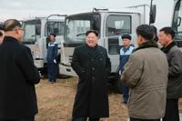 북한 김정은, 자동차공장 시찰