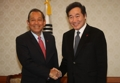 Prime minister meets Vietnamese deputy PM