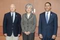 Foreign minister meets U.S. congressmen