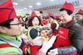 Mayor Ahn Sang-soo attends 'kimjang' event