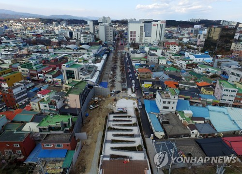 강릉 도심 폐철도의 변신
