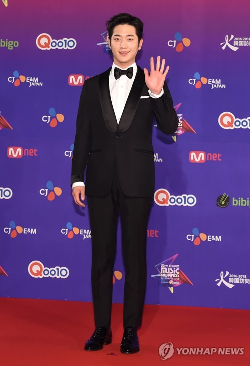 Seo Kang-joon at MAMA 2017 in Japan