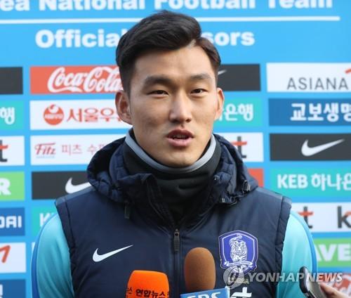 작년 동아시아축구연맹 E-1 챔피언십 때 한국 대표팀 주장을 맡았던 장현수