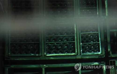 원자력연구원 내 사용후 핵연료  [연합뉴스 자료사진]