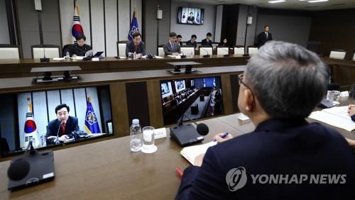 국정현안점검조정회의 모두발언하는 이낙연 총리