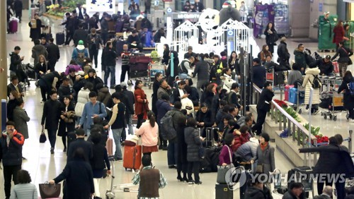 Incheon Airport handles record high number of passengers