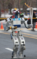 DRC-HUBO robot relays Olympic torch