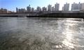 凍りついた漢江