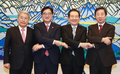 국회의장-여야 3당 원내대표 첫 '상견례 회동'