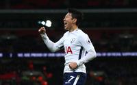 손흥민, 4경기 연속골 폭발…토트넘 2-0 승리