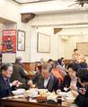 文在寅在京吃平民早餐