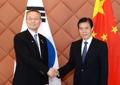 韩产业部长会晤中国商务部长
