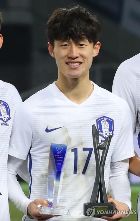 K리그 MVP 이재성, E-1 챔피언십서도 MVP…태극전사 '상복'(종합)