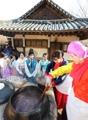 Offering of red bean porridge