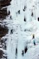 氷瀑クライミング