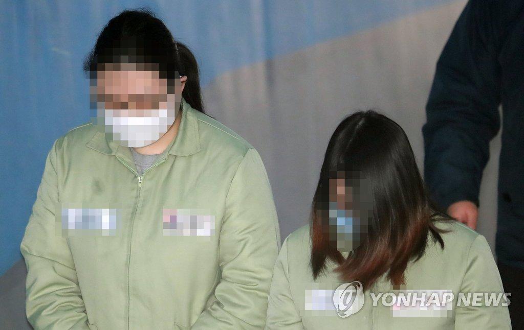 인천 초등생 살인 공범 법정 출석