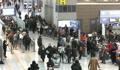 仁川机场迎冬季出境游高峰