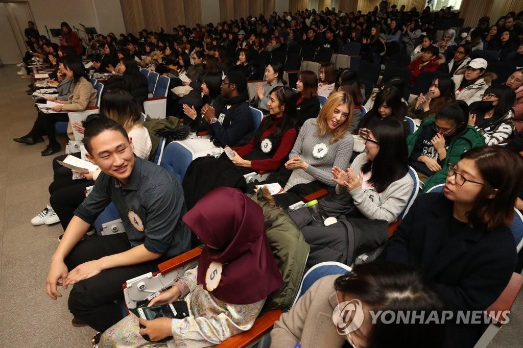 한국에 공감대 형성
