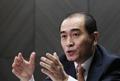投韩朝鲜前公使接受韩联社采访