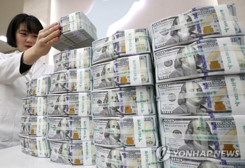 米ドル紙幣(資料写真)=(聯合ニュース)